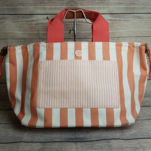 Marc Jacobs Coral and White Beach Bag