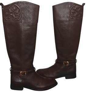 Tory Burch Chocolate Brown/Coconut 212 Boots