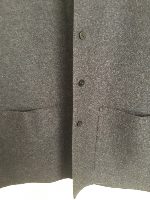 Eileen Fisher Gray Button Up Coat Size 2 (XS) Eileen Fisher Gray Button Up Coat Size 2 (XS) Image 2
