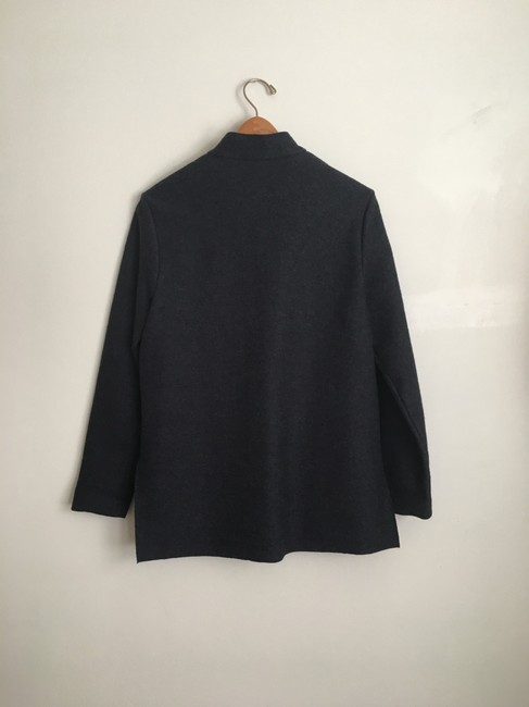 Eileen Fisher Gray Button Up Coat Size 2 (XS) Eileen Fisher Gray Button Up Coat Size 2 (XS) Image 6