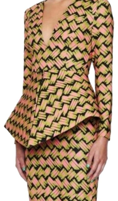 Item - Multicolor Printed Mid-length Night Out Dress Size 4 (S)