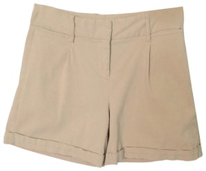 Express Mini/Short Shorts Beige