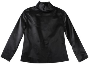 Tom Ford Silk Fitted Top Black