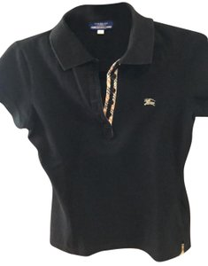 Burberry Blue Label Button Down Shirt black