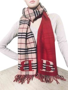 Burberry Burberry Scarf with B signs