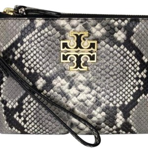 Tory Burch Wristlet in Black and Gray