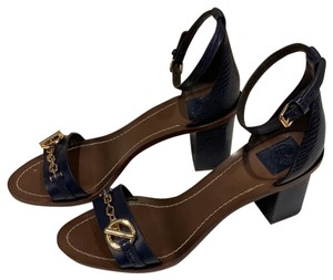 Tory Burch Navy Blue / Baltic Blue 404 Sandals
