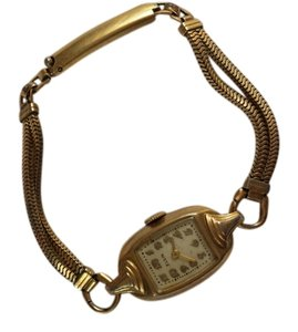 Elgin Vintage ELGIN dainty gold filled WATCH/BRACELET