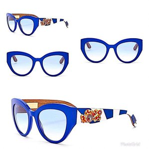 Dolce&Gabbana Blue New with Tag Dolce & Gabbana 4278 Blue/Blue Gradient 52-21-145 Su