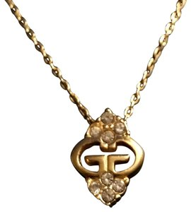 Givenchy Crystal GG Necklace