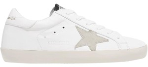 Golden Goose Deluxe Brand Sneakers Leather Gray white Athletic