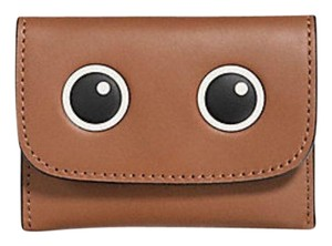 Coach EYES CARD POUCH IN GLOVETANNED LEATHER F87219