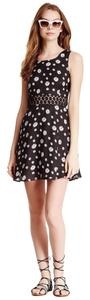 Jack by BB Dakota short dress Black Floral on Tradesy