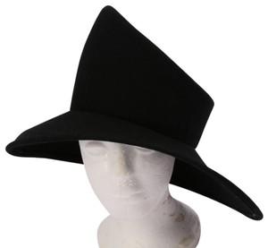Charm's Vintage Charm's Black Wide Tall Hat