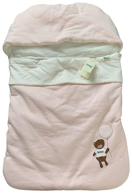 Item - Pink and White Bunting Bag