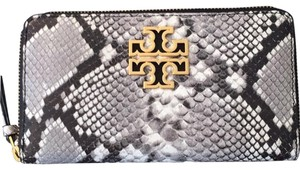 Tory Burch black & Grey Clutch