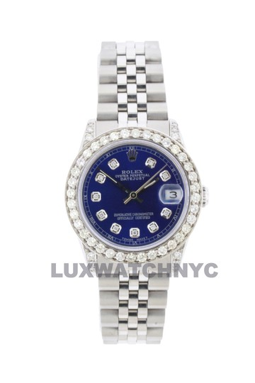 Preload https://img-static.tradesy.com/item/26074125/rolex-blue-dial-31mm-midsize-datejust-diamond-with-appraisal-watch-0-1-540-540.jpg