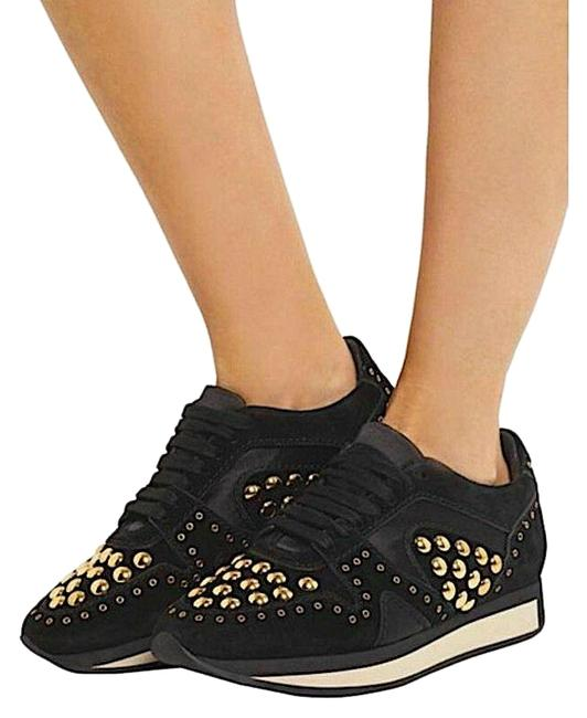 Item - Black/Gold with Tag Women's Sneakers Size EU 38.5 (Approx. US 8.5) Regular (M, B)