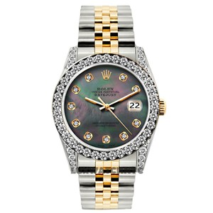 ROLEX 26MM Ladies Datejust Gold S/S Diamond WITH Appraisal