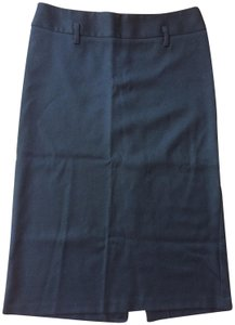 United Colors of Benetton Wool Stretchy Skirt Black