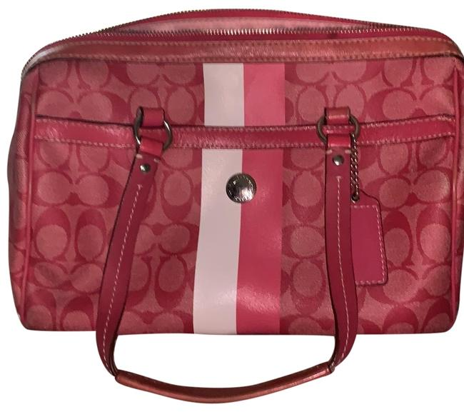 Item - Monogram Pink Patent Leather Satchel