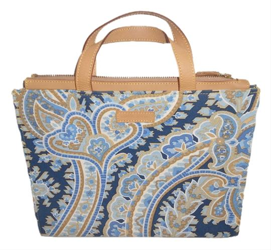MANUEL CANOVAS Satchel in BLUE PAISELY Image 0