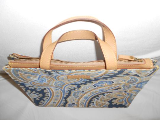 MANUEL CANOVAS Satchel in BLUE PAISELY Image 1