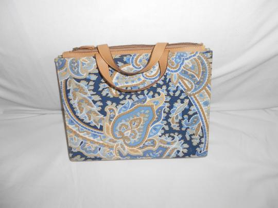 MANUEL CANOVAS Satchel in BLUE PAISELY Image 2