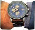 Charles Hutton Watches Men's Watch: Blue & Rose Gold Charles Hutton