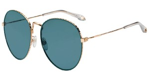 Givenchy GIVENCHY SUNGLASSES GV 7089/S 0PEF Gold Green (MT Green Mirror)