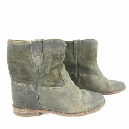 Isabel Marant Suede Grey/Brown Boots Image 1