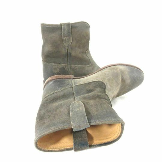 Isabel Marant Suede Grey/Brown Boots Image 2
