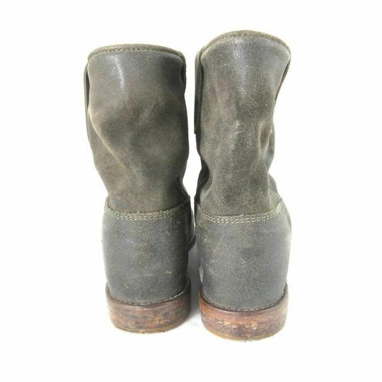 Isabel Marant Suede Grey/Brown Boots Image 3