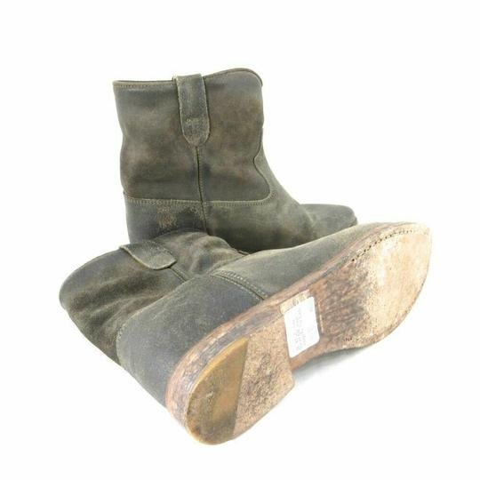 Isabel Marant Suede Grey/Brown Boots Image 4