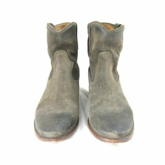 Isabel Marant Suede Grey/Brown Boots Image 5