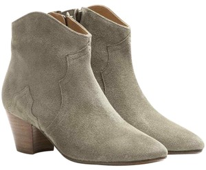 Isabel Marant Taupe Grey Beige Boots