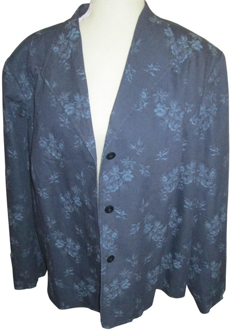 Preload https://img-static.tradesy.com/item/26077204/coldwater-creek-blue-springsummer-blazer-size-22-plus-2x-0-1-650-650.jpg