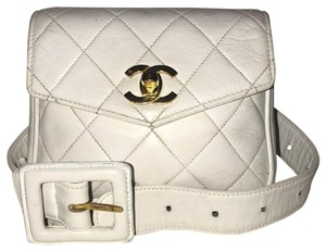 Chanel Flap Lambskin Quilted Vintage Cross Body Bag