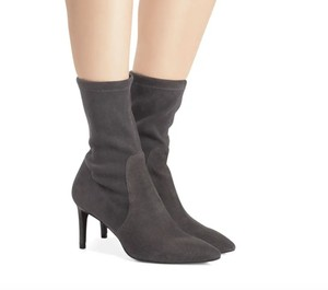 Stuart Weitzman Slate Medium Grey Boots