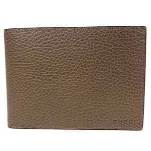 Gucci NEW GUCCI 292534 Men's Leather Embossed Logo Bifold Wallet
