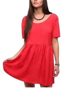 Sparkle & Fade short dress Red on Tradesy