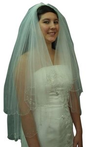 Two Tier Bridal Veil New With Tags