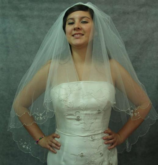 Ivory Medium Two Tier New with Tags Bridal Veil