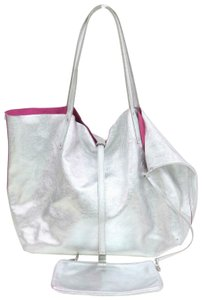 Tiffany & Co. Reversible Shopper Neverfull Cabas Celine Tote in Silver