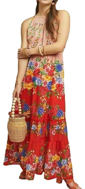 Item - Multicolor Atacama By Vineet Bahl Long Casual Maxi Dress Size 10 (M)