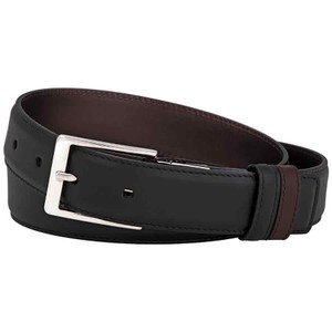 Gucci Men's Reversible Leather Belt Made In Italy Size 85