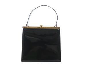 Bonwit Teller black Clutch