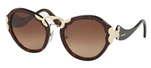 Prada New Women's Large Tortoise Shell SPR 09T 2AU6S1 Free 3 Day Shipping