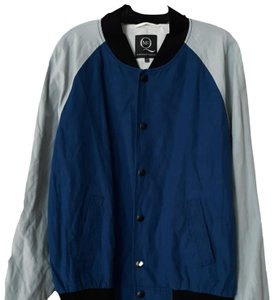 MCQ by Alexander McQueen Blue, Black, Grey Jacket