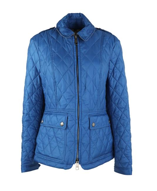 Item - Vibrant Blue Quilted Ivymoore Spring Jacket